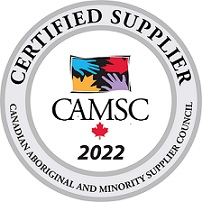 Certified Supplier of The Canadian Aboriginal and Minority Supplier Council